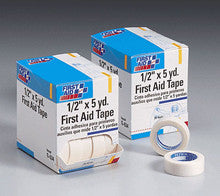 First Aid Only : 1/2 in. x 5 yd. First aid tape roll- 20 per dispenser box - First Aid - Wholesale Dropship Fulfillment