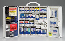 Large Smart Compliance General Workplace First Aid Cabinet with pain relief medication - First Aid Only - Dropship Direct Wholesale
