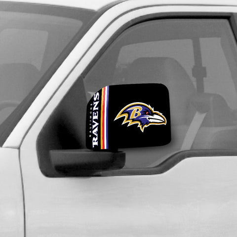 Baltimore Ravens Large Mirror Cover - FANMATS - Dropship Direct Wholesale