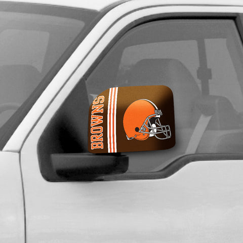 Cleveland Browns Large Mirror Cover - FANMATS - Dropship Direct Wholesale