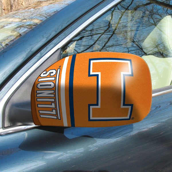 University of Illinois Small Mirror Cover - FANMATS - Dropship Direct Wholesale