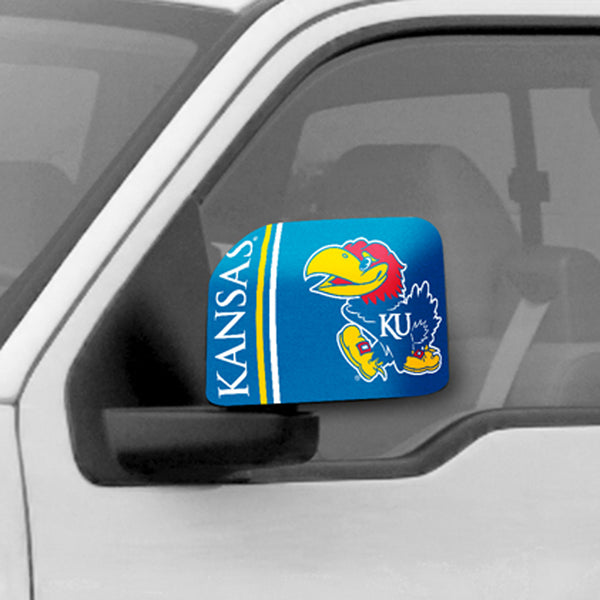 University of Kansas Large Mirror Cover - FANMATS - Dropship Direct Wholesale