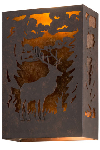 10 Inch W Deer Wall Sconce - Meyda - Dropship Direct Wholesale