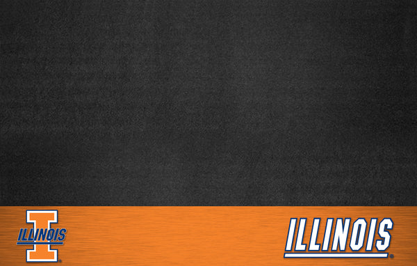 University of Illinois Grill Mat 26x42 - FANMATS - Dropship Direct Wholesale