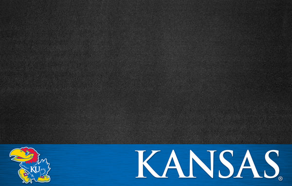 University of Kansas Grill Mat 26x42 - FANMATS - Dropship Direct Wholesale