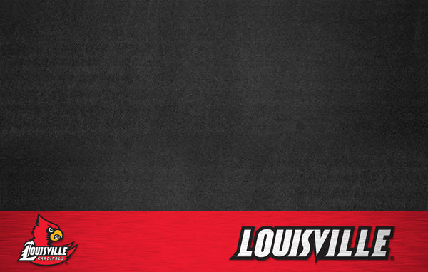 University of Louisville Grill Mat 26x42 - FANMATS - Dropship Direct Wholesale