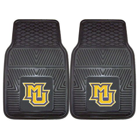 Marquette University Heavy Duty 2-Piece Vinyl Car Mats 17x27 - FANMATS - Dropship Direct Wholesale