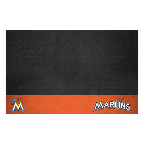 Miami Marlins Grill Mat 26x42 - FANMATS - Dropship Direct Wholesale