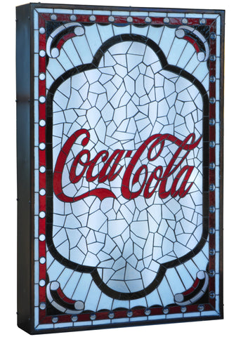 25.25 Inch W X 38.25 Inch H X 5 Inch D Coca-cola Tabernacle Led Display - Meyda - Dropship Direct Wholesale