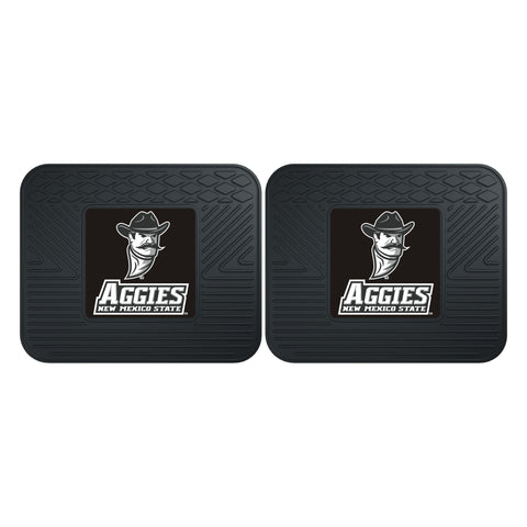 New Mexico State Backseat Utility Mats 2 Pack 14x17 - FANMATS - Dropship Direct Wholesale
