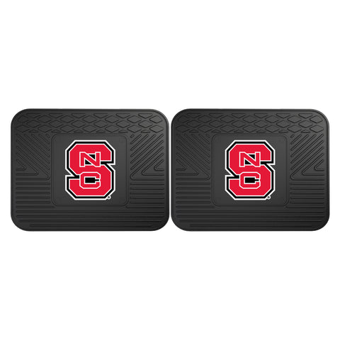 NC State Backseat Utility Mats 2 Pack 14x17 - FANMATS - Dropship Direct Wholesale
