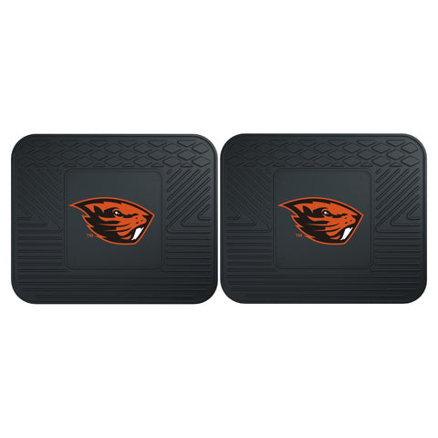 Oregon State Backseat Utility Mats 2 Pack 14x17 - FANMATS - Dropship Direct Wholesale