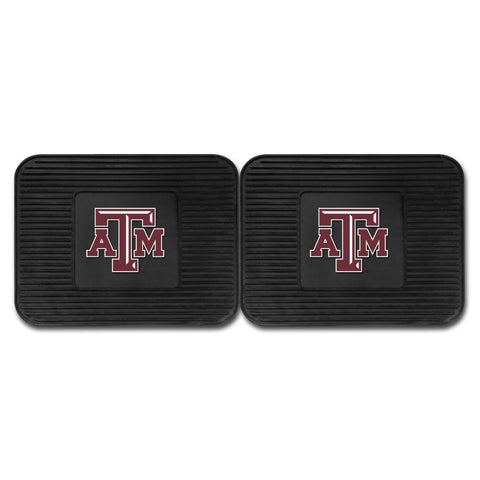 Texas A&M Backseat Utility Mats 2 Pack 14x17 - FANMATS - Dropship Direct Wholesale