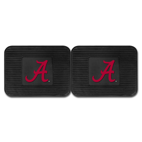 University of Alabama Backseat Utility Mats 2 Pack 14x17 - FANMATS - Dropship Direct Wholesale