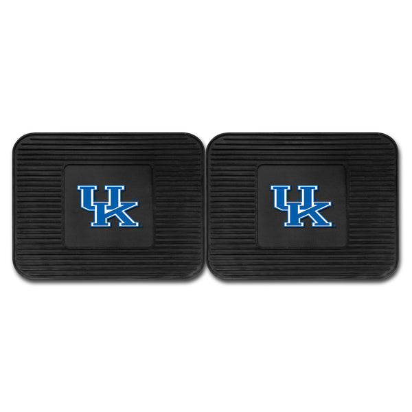 University of Kentucky Backseat Utility Mats 2 Pack 14x17 - FANMATS - Dropship Direct Wholesale