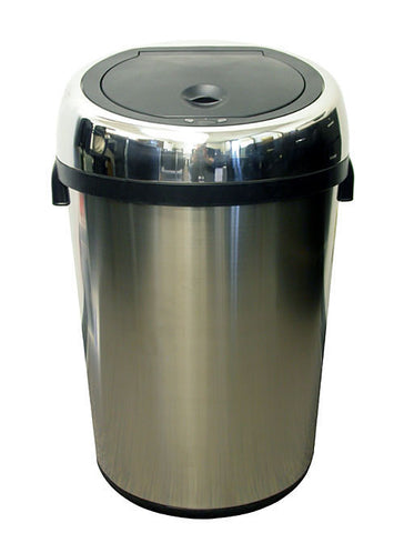 iTouchless 23 Gallon Large Commercial Size Stainless Steel Automatic Sensor Touchless Trash Can - iTouchless - Dropship Direct Wholesale