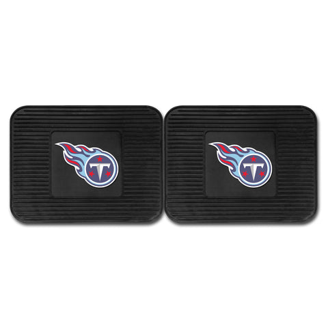 Tennessee Titans Backseat Utility Mats 2 Pack 14x17 - FANMATS - Dropship Direct Wholesale