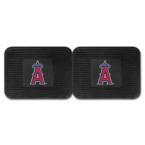 Los Angeles Angels Backseat Utility Mats 2 Pack 14x17 - FANMATS - Dropship Direct Wholesale