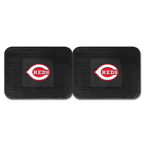 Cincinnati Reds Backseat Utility Mats 2 Pack 14x17 - FANMATS - Dropship Direct Wholesale