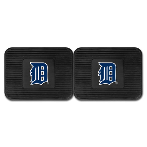 Detroit Tigers Backseat Utility Mats 2 Pack 14x17 - FANMATS - Dropship Direct Wholesale