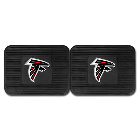 "NFL - Atlanta Falcons Backseat Utility Mats 2 Pack 14""x17"" - FANMATS - Dropship Direct Wholesale"