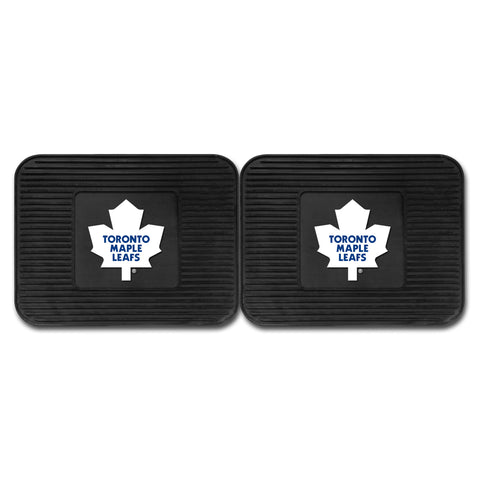 Toronto Maple Leafs Backseat Utility Mats 2 Pack 14x17 - FANMATS - Dropship Direct Wholesale