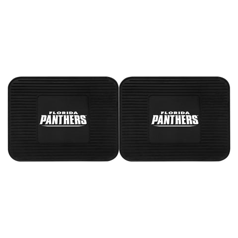 Florida Panthers Backseat Utility Mats 2 Pack 14x17 - FANMATS - Dropship Direct Wholesale