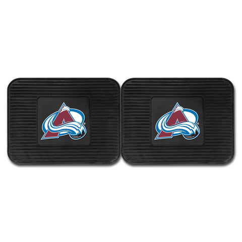 Colorado Avalanche Backseat Utility Mats 2 Pack 14x17 - FANMATS - Dropship Direct Wholesale