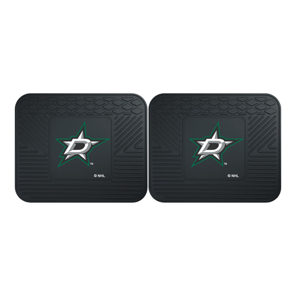 Dallas Stars Backseat Utility Mats 2 Pack 14x17 - FANMATS - Dropship Direct Wholesale