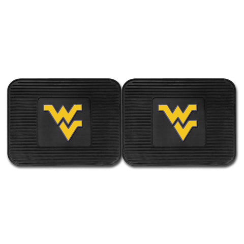 West Virginia University Backseat Utility Mats 2 Pack 14x17 - FANMATS - Dropship Direct Wholesale