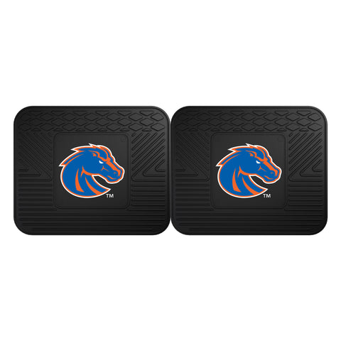 Boise State Backseat Utility Mats 2 Pack 14x17 - FANMATS - Dropship Direct Wholesale