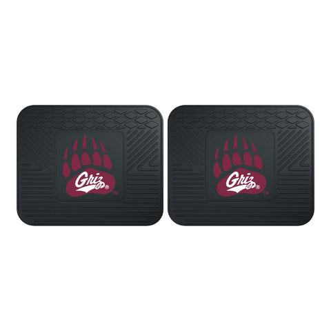 University of Montana Backseat Utility Mats 2 Pack 14x17 - FANMATS - Dropship Direct Wholesale