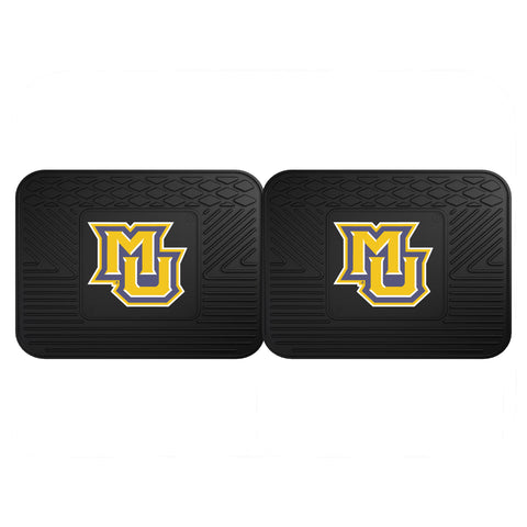 Marquette University Backseat Utility Mats 2 Pack 14x17 - FANMATS - Dropship Direct Wholesale