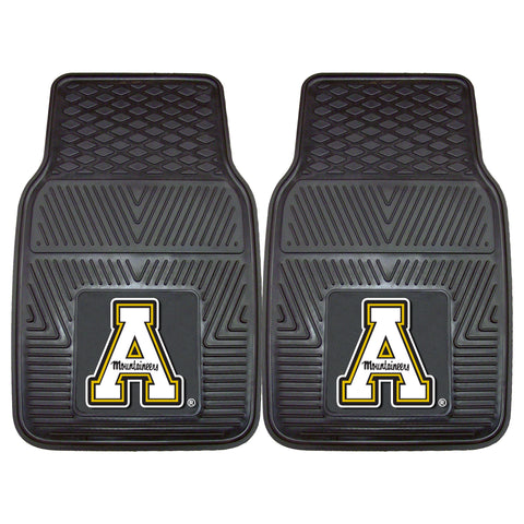 Appalachian State Heavy Duty 2-Piece Vinyl Car Mats 17x27 - FANMATS - Dropship Direct Wholesale