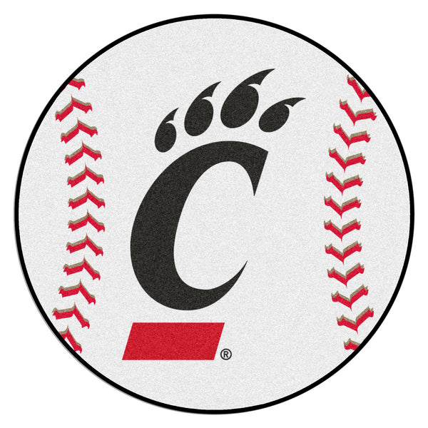 University of Cincinnati Baseball Mat 27 diameter