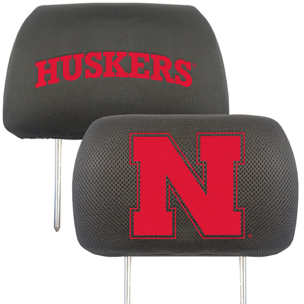 University of Nebraska Head Rest Cover 10x13 - FANMATS - Dropship Direct Wholesale