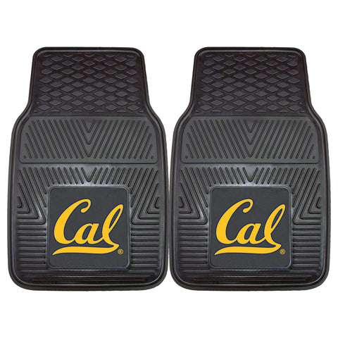 UC Berkeley 2-pc Vinyl Car Mat Set - FANMATS - Dropship Direct Wholesale