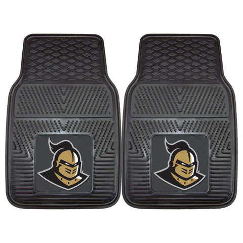 UCF 2 Pc Heavy Duty Vinyl Car Mats 17x27 - FANMATS - Dropship Direct Wholesale