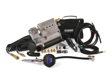 VIAIR : 07-11 Jeep JK Constant Duty ADA System with Mounting Bracket - Air Compressors - Wholesale Dropship Fulfillment