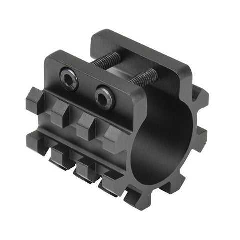 NcStar 12g Shotgun Tri-rail Weaver Mount For 1 Mag Tube - NcSTAR - Dropship Direct Wholesale
