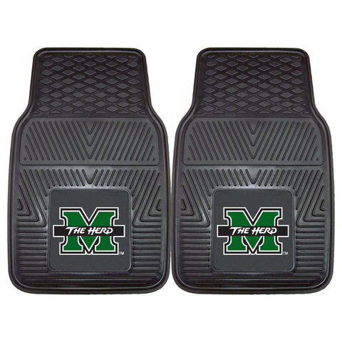 Marshall University 2-pc Vinyl Car Mat Set - FANMATS - Dropship Direct Wholesale