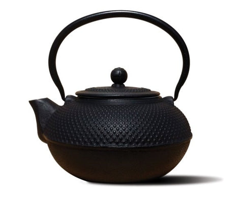 Matte Black Cast Iron Saga Teapot - Old Dutch - Dropship Direct Wholesale