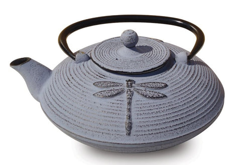 Lavender Cast Iron Placidity Teapot 26 Oz - Old Dutch - Dropship Direct Wholesale