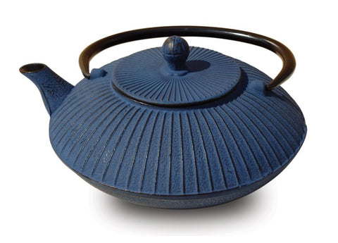 Blue Cast Iron Fidelity Teapot 27 Oz - Old Dutch - Dropship Direct Wholesale
