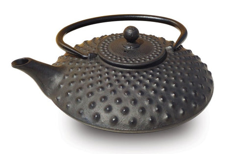 Matte Black Cast Iron Amity Teapot 26 Oz - Old Dutch - Dropship Direct Wholesale