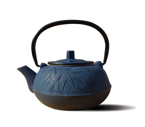 Blue Cast Iron Osaka Teapot 20 Oz - Old Dutch - Dropship Direct Wholesale