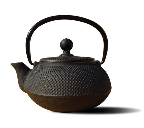 Matte Black Cast Iron Sapporo Teapot 20 Oz - Old Dutch - Dropship Direct Wholesale