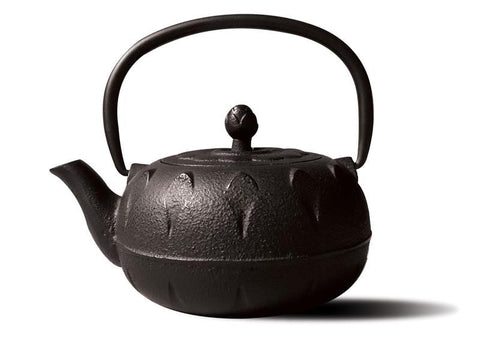 Matte Black Cast Iron Chubu Teapot 18 oz - Old Dutch - Dropship Direct Wholesale