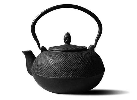 Matte Black Cast Iron HakoneTeapot/Wood Stove Humidifier3ltr - Old Dutch - Dropship Direct Wholesale