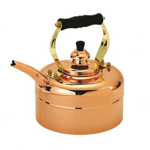 3 Qt Tri-Ply Copper Windsor Whistling Teakettle - Old Dutch - Dropship Direct Wholesale